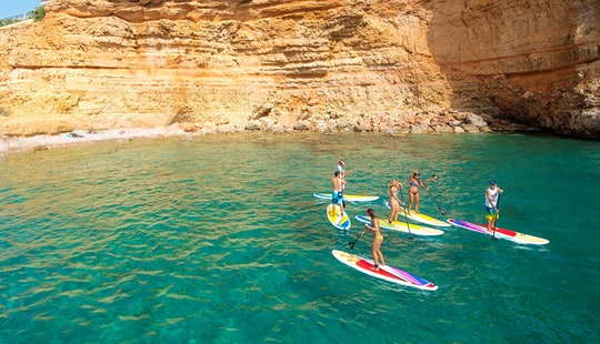 Guided Stand Up Paddleboarding Trip In Felanitx, Spain