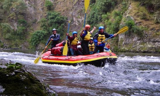 Rafting Trips In Ohakune, New Zealand