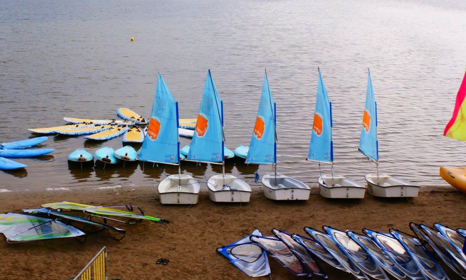 'Optimus' Sailing Lesson in Gruissan
