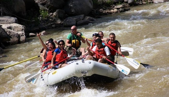 Whitewater River Rafting In Durango