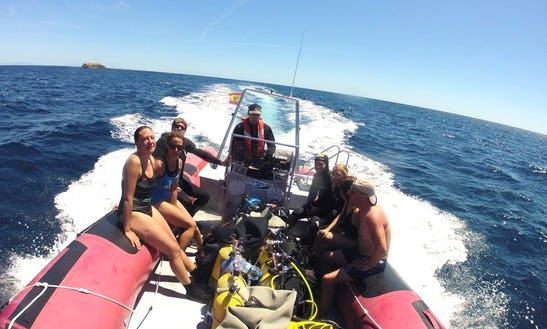 Rib Diving Trips In Santa Pola, Spain