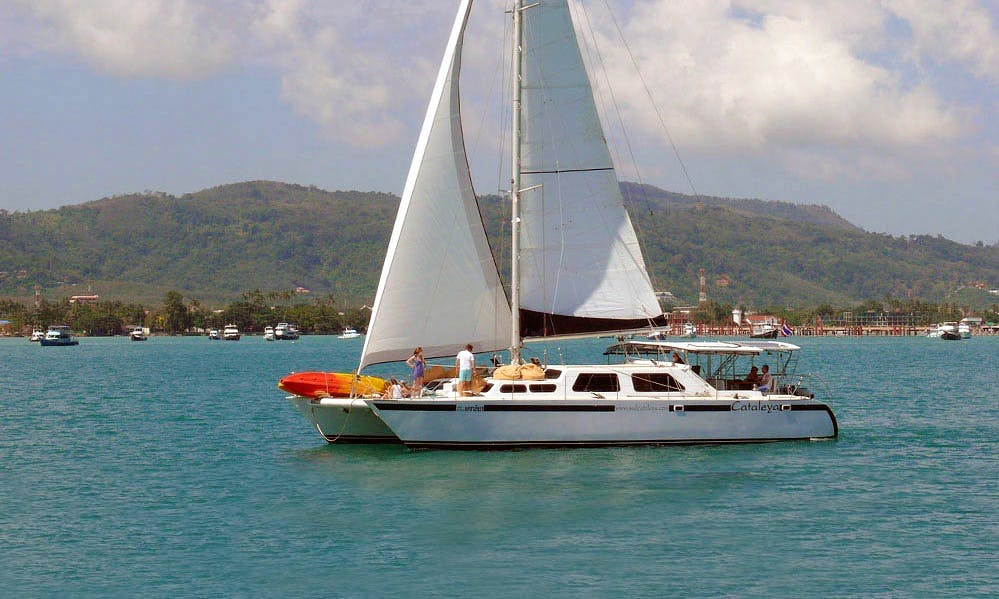 "Enjoy 58 ft ""Cataleya"" Catamaran Charter in Tambon Rawai Chang Wat, Phuket"