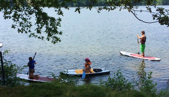 Stand Up Paddleboard Hire In Seilhac, France