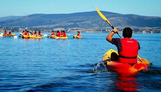 Hire A Kayak And Explore Embalse De Pedrezuela Reservoir In Guadalix De La Sierra