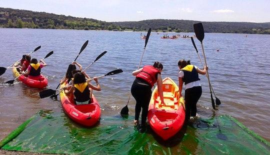 Hire A Triple Kayak In Guadalix De La Sierra, Spain