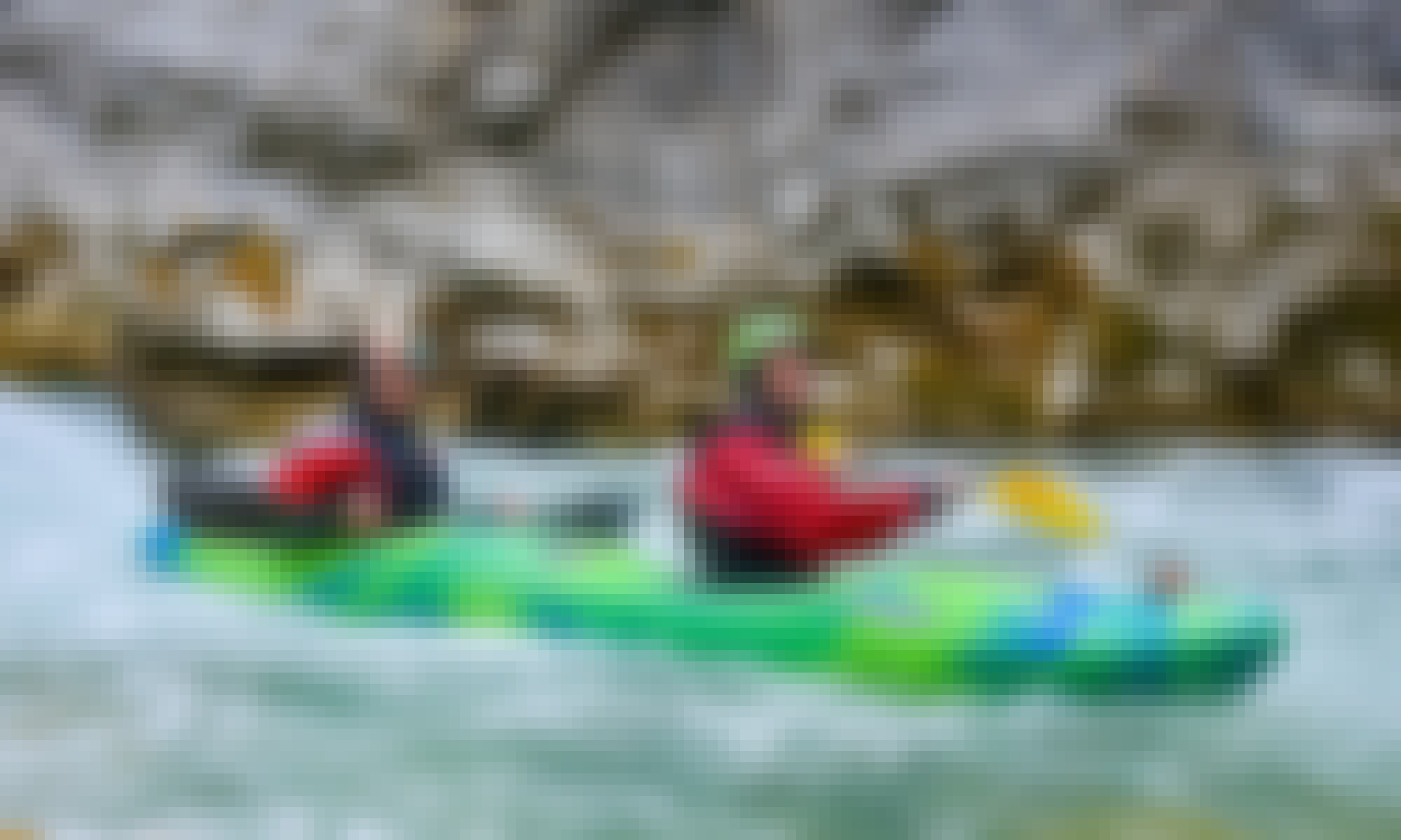 Grand Canyon Kayak Expedition in Castellane, France