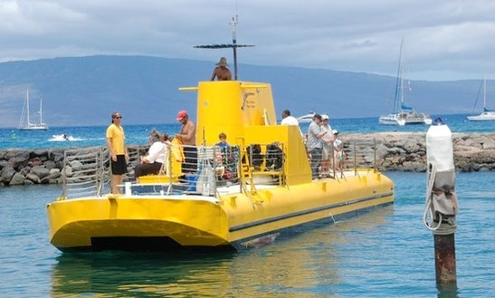 Glass Bottom Boat In Lahaina