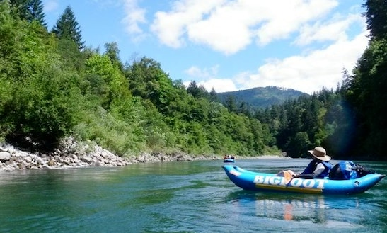 Guided Raft Trips In Willow Creek, California!