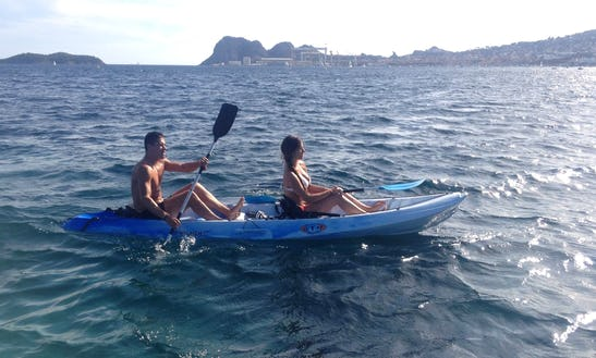 Rtm Ocean Quatro Double Kayak For Hire In La Ciotat, France