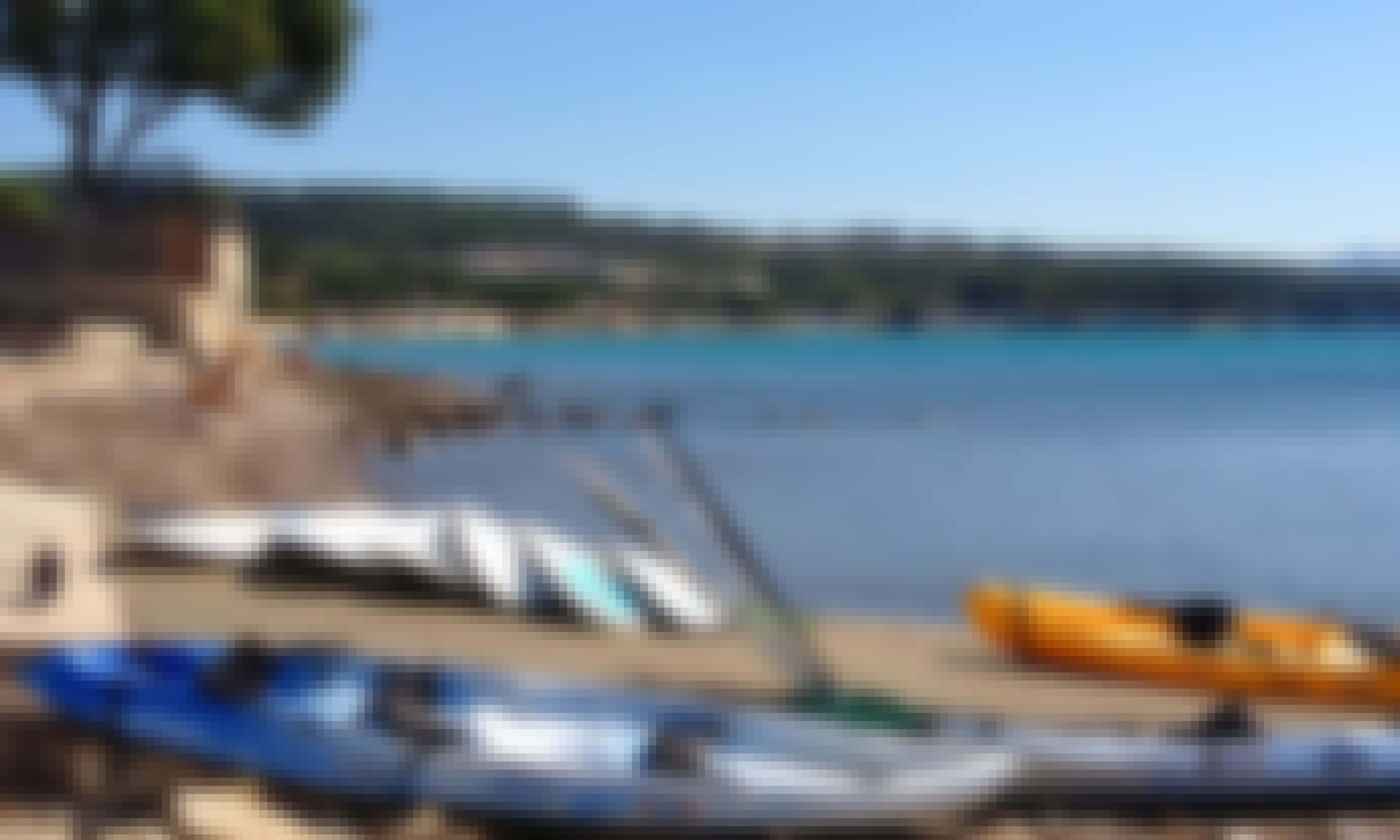 3-People Kayak for Hire & Paddle Lessons in La Ciotat, France