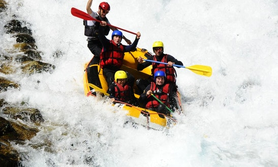 Whitewater Rafting On Lower Guisane