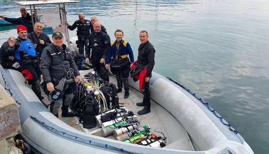 Master 870 Boat Diving In Santa Margherita Ligure
