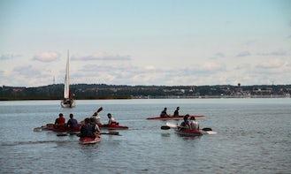 Enjoy a Double Kayaking Adventure in Wilkasy, Poland