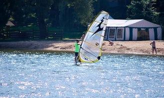 Windsurfing Rides in Wilkasy, Poland
