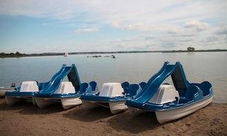 Pedal Boat rental in Wilkasy