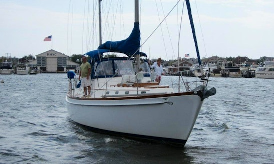 Charter & Lesson On 22ft 'dream' Monohull In Brick, New Jersey