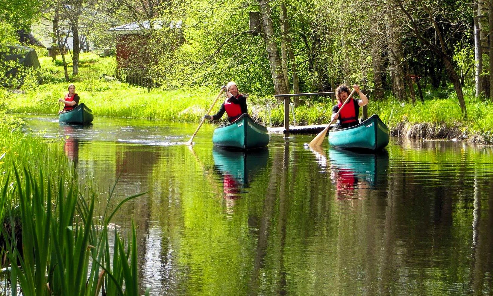 Guided Canoe Tours in Tammela