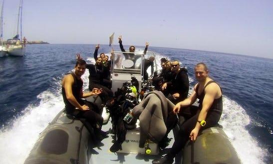 Diving In Santiago Del Teide