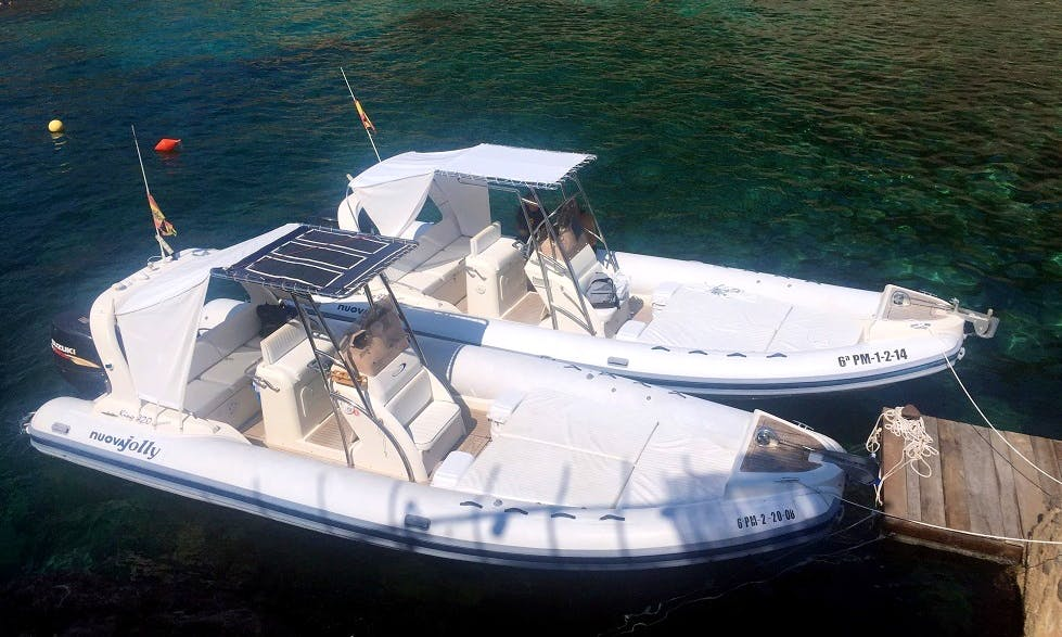 Rent a King 820 Rigid Inflatable Boat for 12 Person in Port de Sóller, Spain