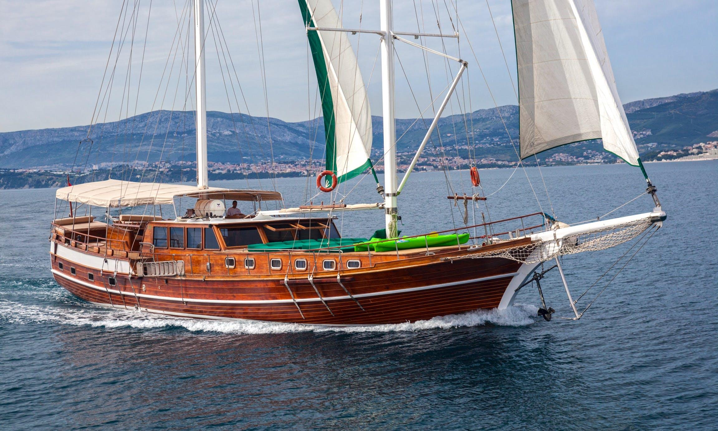 """Anna Marija"" Sailing Gulet Charter in Split"