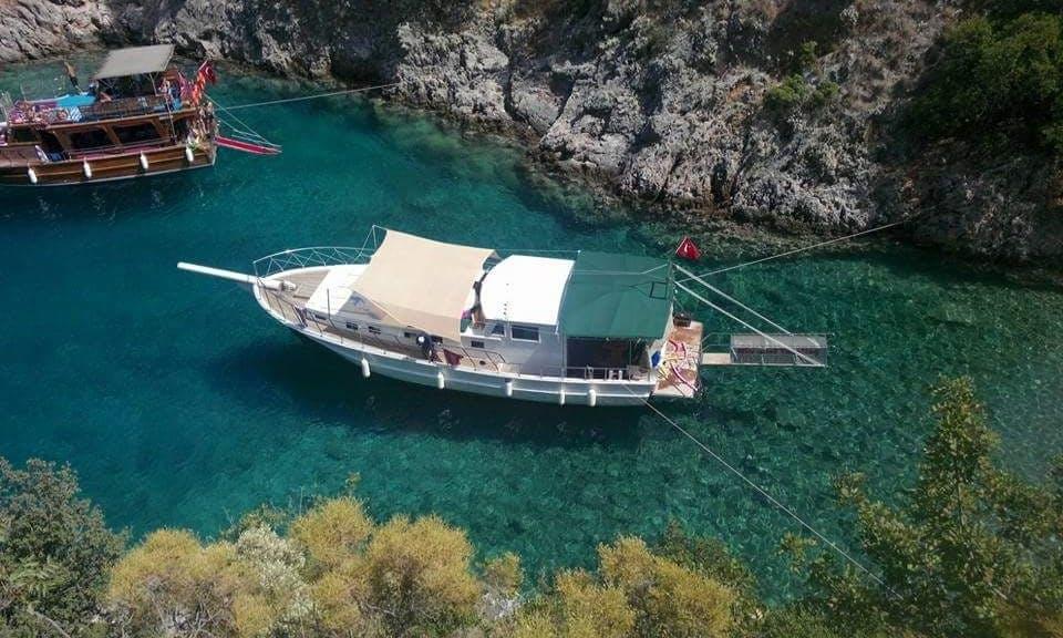 Özel Tekne Mavi Tur Private boat tour Fethiye Ölüdeniz