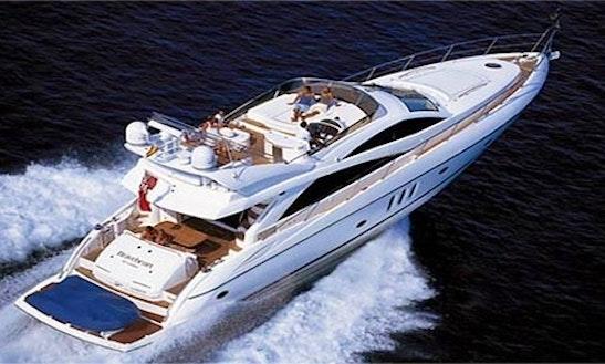 The Sunseeker Manhattan 66 Motor Yacht In Marbella