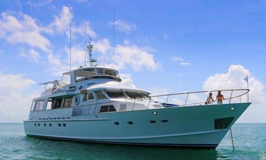 Luxury Charter Vessel  Port Douglas, Lizard Is And Ribbon Reefs