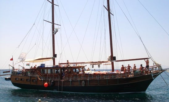 Cruise Around The Aegean Sea Aboard A 15 Person Sailing Gulet!
