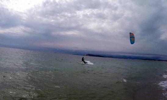Kitesurfing Lessons In Cagliari