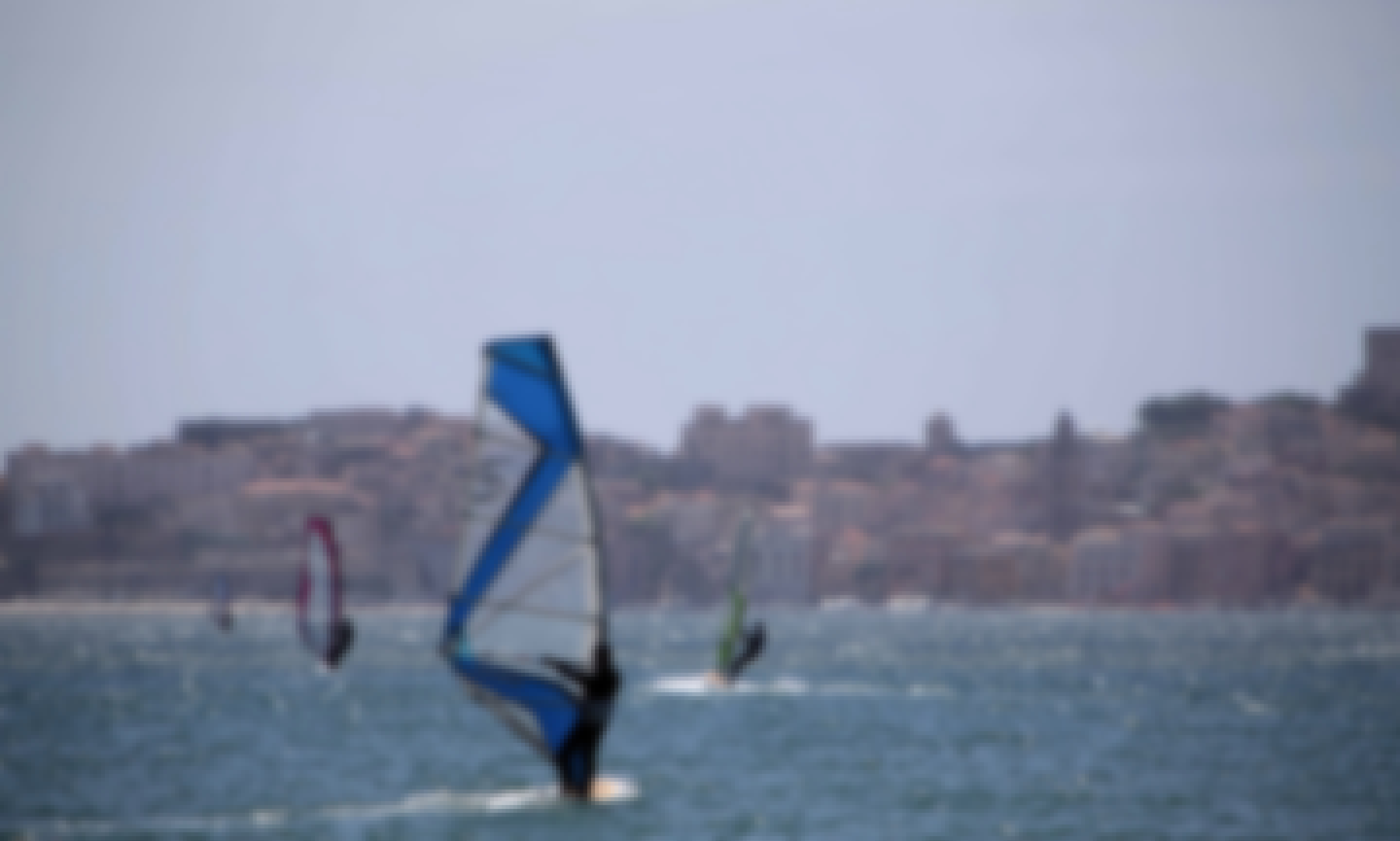 Windsurfing in Formia
