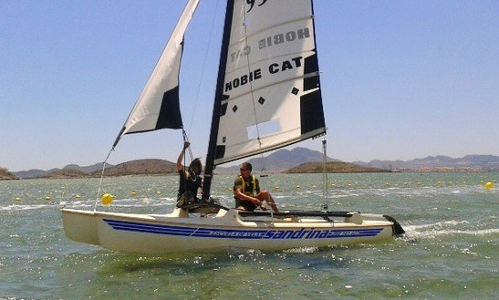 Rent 15' Hobie Sailing Catamaran In San Javier, Spain