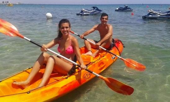 Double Kayak Rental In San Javier