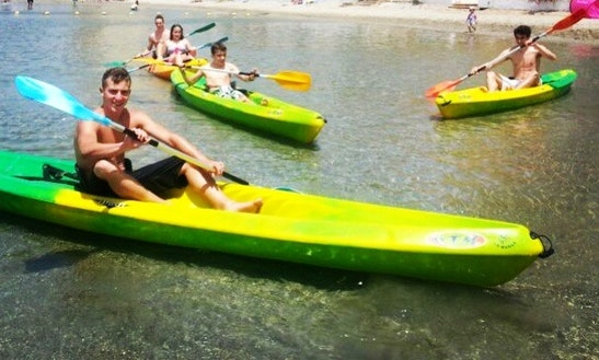 Single Kayak Rental In San Javier