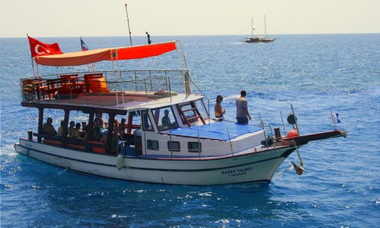 """""""the North Star"""" Diving Boat Trips In Turkey"""
