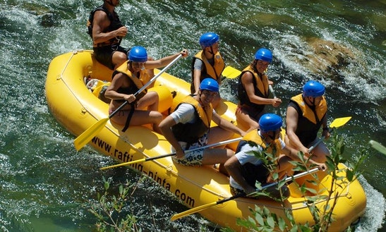 White Water Rafting From Split & Podstrana