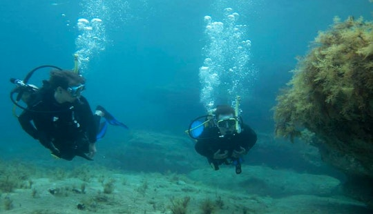 Scuba Diving Lessons In Peyia