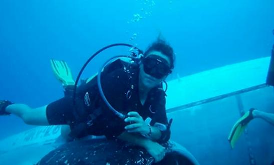 Diving In Antalya