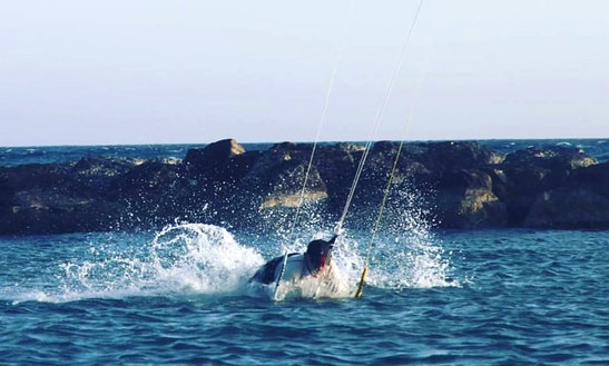 Kitesurfing In Limassol