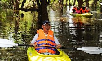 Half Day Guided Kayak Tour in Krong Siem Reap, Cambodia