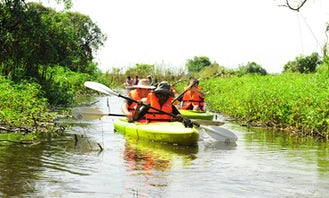 Guided Kayak Tour with a Professional Team in Krong Siem Reap, Cambodia