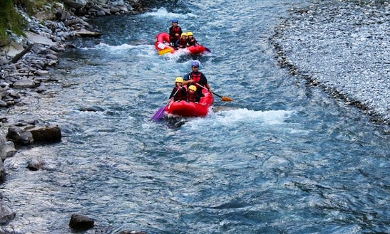 Canorafting Tour In Verchaix