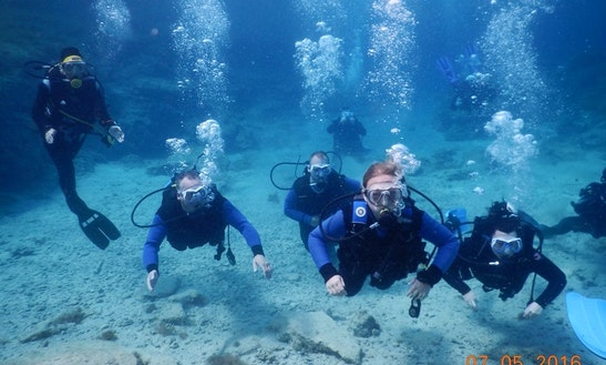 Scuba Lessons In Protaras