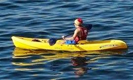 Single Kayak Hire in Bol