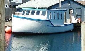 35ft Trawler Boat Rental in Ellsworth, Maine