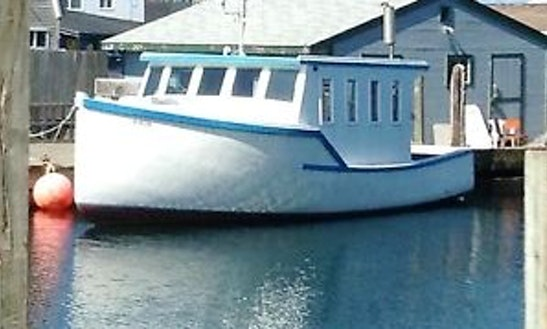 35ft Trawler Boat Rental In Ellsworth, Maine