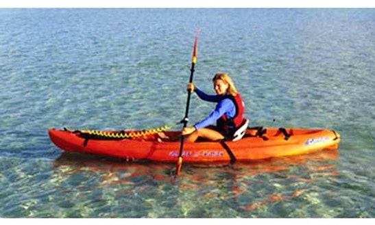 Single Kayak Hire In San Teodoro
