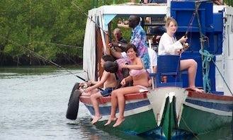 Passenger Boat fishing charter in Gambia