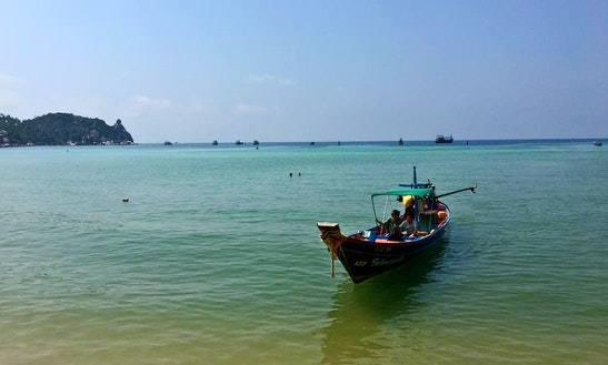 Private Long Tail Boat Snorkeling Tours  In Tambon Ko Tao