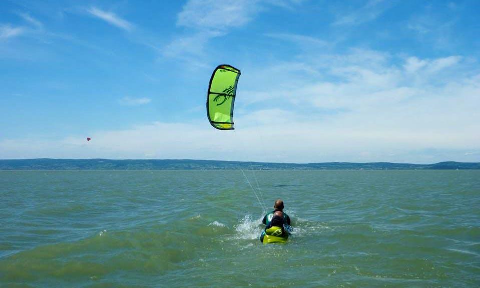 Kitesurfing lesson in Gemeinde Podersdorf am See