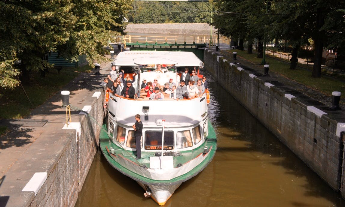 """Dryada"" Canal Boat Trips in Wrocław"